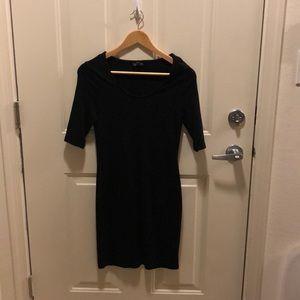 Top shop black dress
